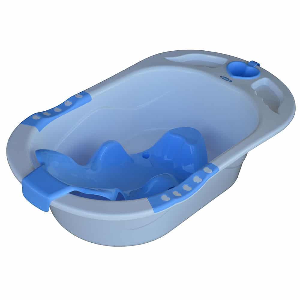 Aqua Blue Bathtub