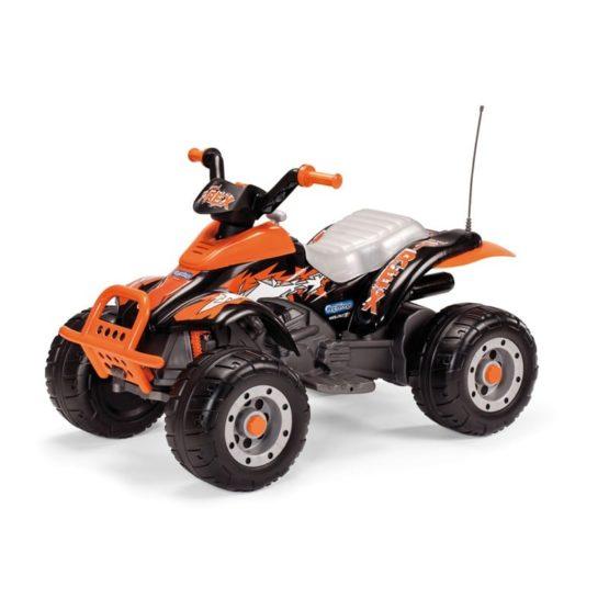 Ηλεκτροκίνητο Peg Perego 12 Volt Corral T-Rex (Black/Orange)