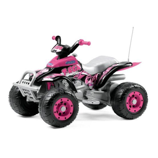 Ηλεκτροκίνητο Peg Perego 12 Volt Corral T-Rex Pink