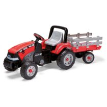 Peg Perego Ποδοκίνητο Maxi Diesel Tractor With Trailer - Bebe Home Βρεφικά Είδη
