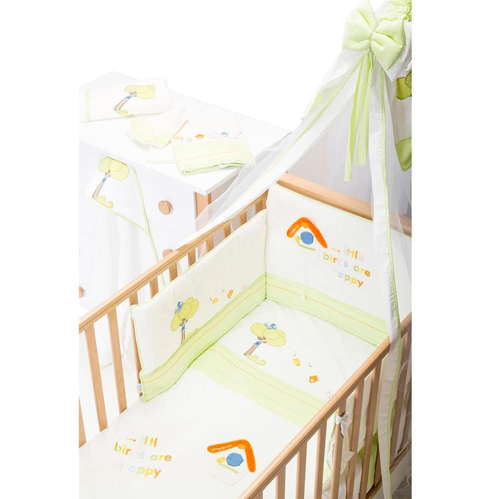 BaBy's Little Birds 4-piece BaBy Bedding Set