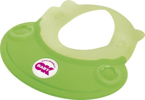 Ok BaBy Hippo Rubber Visor Protector For Eyes Green