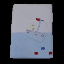 Κουβέρτα Βελουτέ Fisherman - Bebe Home Βρεφικά Είδη