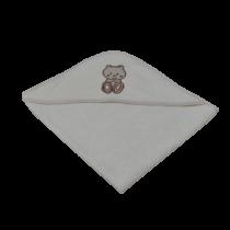 Μπουρνούζι Κάπα Teddy Bear - Bebe Home Βρεφικά Είδη