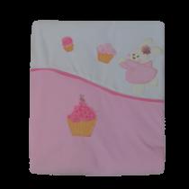 Κουβέρτα Bελουτέ Cupcake - Bebe Home Βρεφικά Είδη