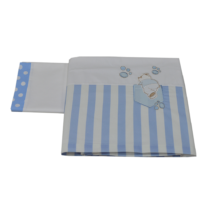 Σετ Σεντόνια Stripes Bear - Bebe Home Βρεφικά Είδη