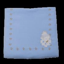 Κουβέρτα Bελουτέ Stripes Bear - Bebe Home Βρεφικά Είδη