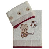 Σετ Πετσέτες Teddy Bear - Bebe Home Βρεφικά Είδη