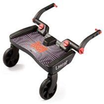 Lascal Buggy Board Mini Μαύρο - Κοκκινο - Bebe Home Βρεφικά Είδη