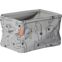 DONE BY DEER Μαλακό Kουτί Aποθήκευσης Διπλής Οψης Grey - Bebe Home Βρεφικά Είδη