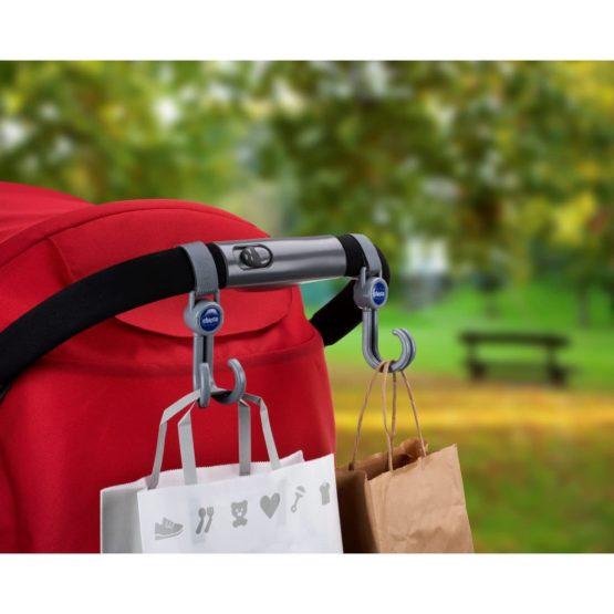 Chicco Universal Stroller Hooks (2pcs)