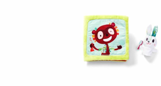 """Lilliputiens – """"Georges the Dentist"""" Fabric Activities Booklet"""