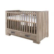 Kidsmill Προεφηβικό Κρεβάτι Με Συρτάρια (0.70X1.40 cm) Lodge Old Look - Bebe Home Βρεφικά Είδη