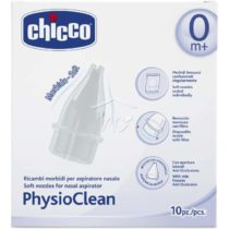 Chicco Physioclean Ανταλλακτικα 10τμχ