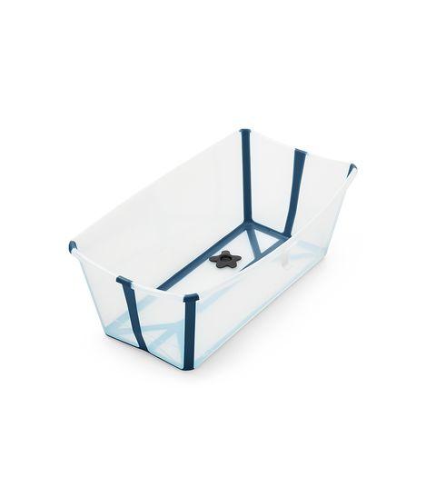 Stokke Flexi Bath με θερμοευαίσθητη βαλβίδα Transparent Blue