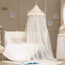 Funna Baby Κουνουπιέρα Romantica 8Μ. Premium Cream