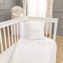 Funna Baby Σεντόνια Κούνιας 3 Τεμ. Premium White - Bebe Home Βρεφικά Είδη
