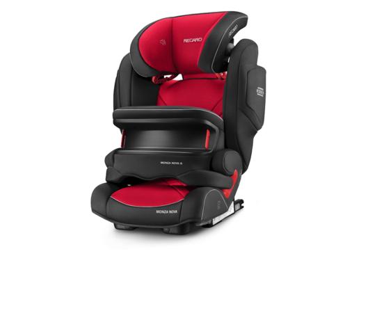 Recaro Monza Nova IS/Racing Red Car Seat