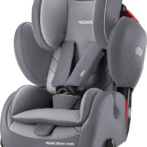 Recaro Young Sport Hero / Aluminium-Grey Κάθισμα Αυτοκινήτου