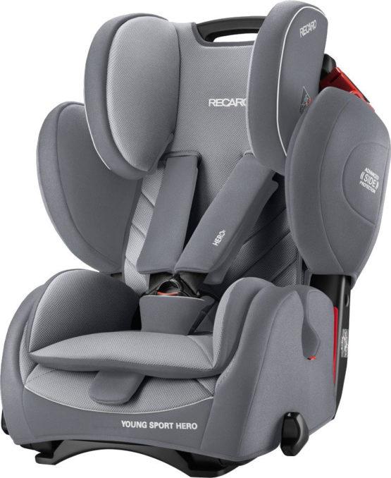 Recaro Young Sport Hero Car Seat Aluminium-Grey