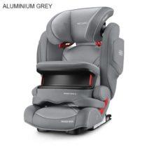 Recaro Monza Nova Is / Aluminium-Grey Κάθισμα Αυτοκινήτου - Bebe Home Βρεφικά Είδη