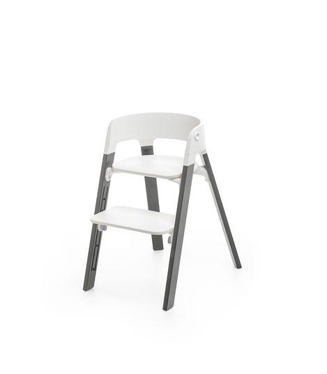 Stokke Steps Κάθισμα Φαγητού Storm Grey-White