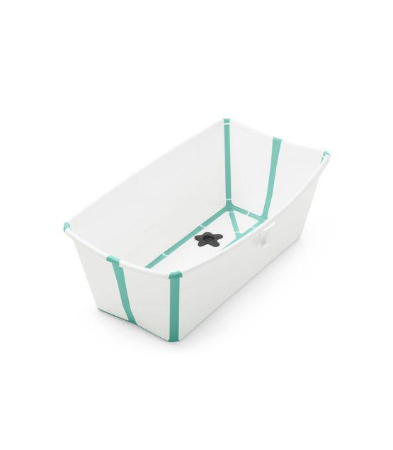 Stokke Flexi Bath με θερμοευαίσθητη βαλβίδα White Aqua