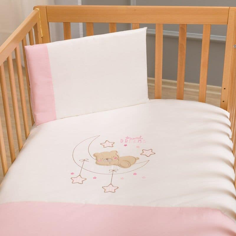 0a3365c3ad2 Funna Baby Σεντόνια Κούνιας 3 Τεμ. Sweet Dreams Pink - Bebe Home