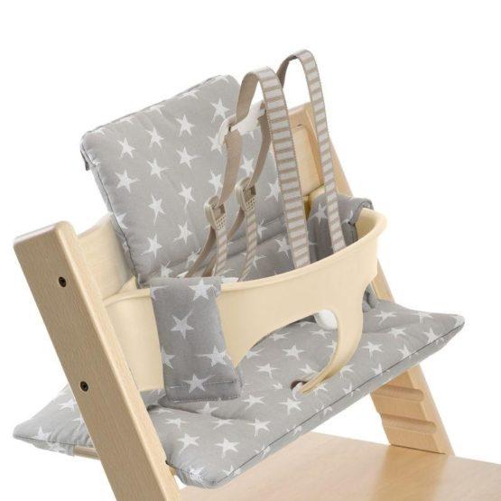 Stokke Tripp Trapp Grey Star Cushion