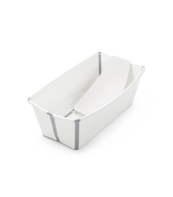 Stokke Flexi Bath Bundle με υποστήριξη και θερμοευαίσθητη βαλβίδα White