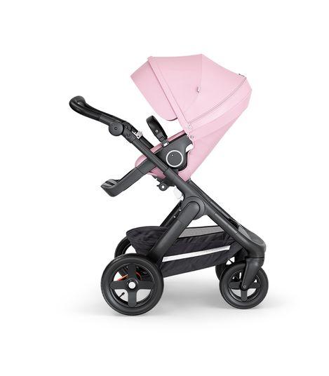 Stokke® Trailz™ Stroller Terrain Wheels – Black Handle- Lotus Pink
