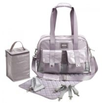 Beaba Τσάντα Αλλαγής Monaco Silver - Bebe Home Βρεφικά Είδη