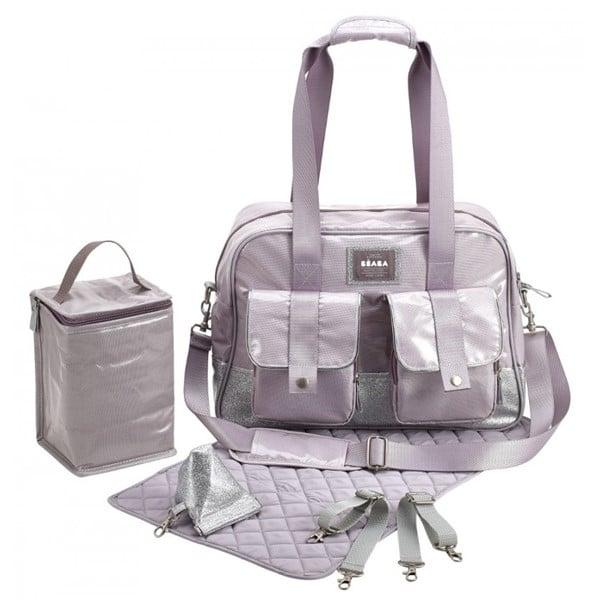Beaba Τσάντα Αλλαγής Monaco Silver