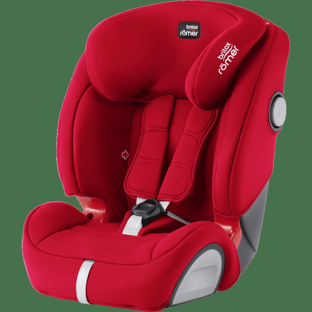 Britax Romer EVOLVA 1-2-3 SL SICT Fire Red Car Seat