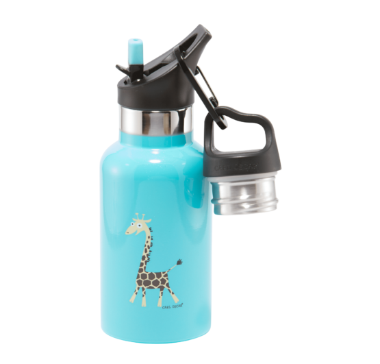 Carl Oscar TEMPflask Kids 0.35L – Girafffe Turkuoise