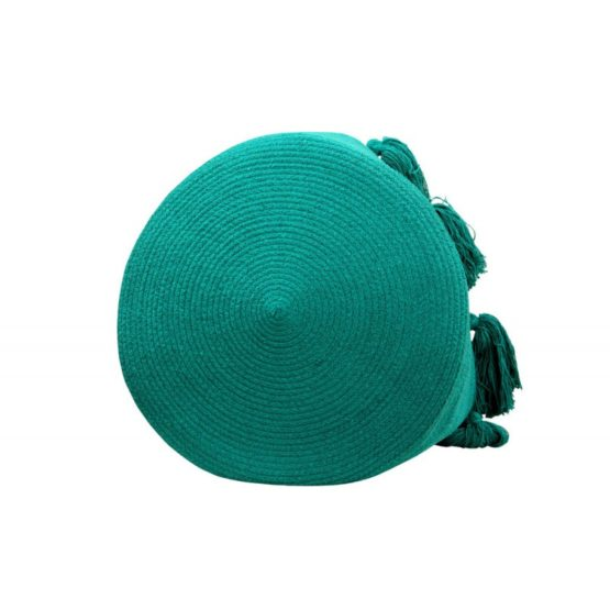 Basket Tassels Emerald 4