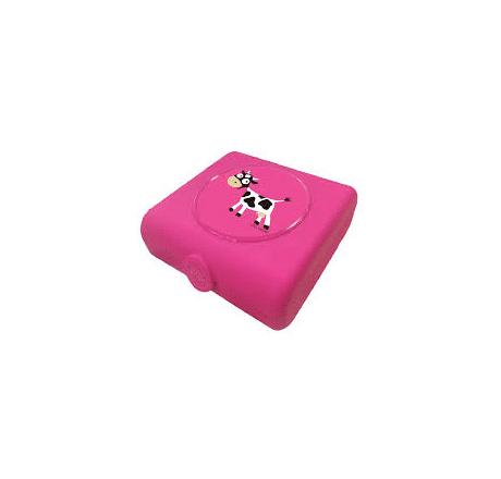 Carl Oscar Sandwich Boxes Cow Purple