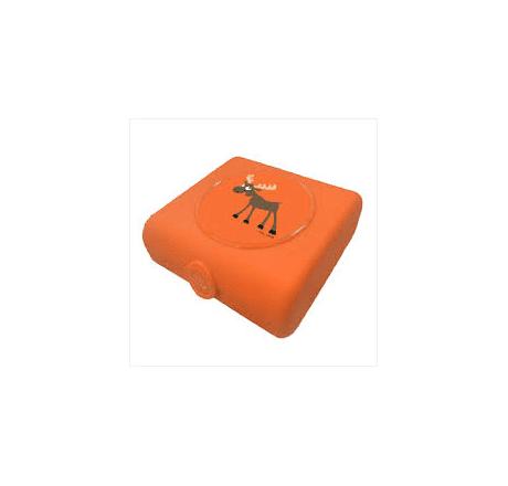 Carl Oscar Sandwich Boxes Moose Orange