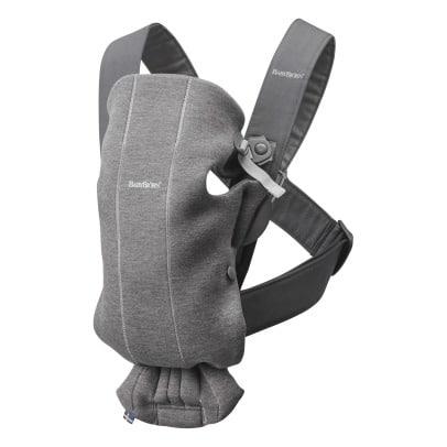 BabyBjörn μάρσιπος Mini 3D Jersey Dark Grey