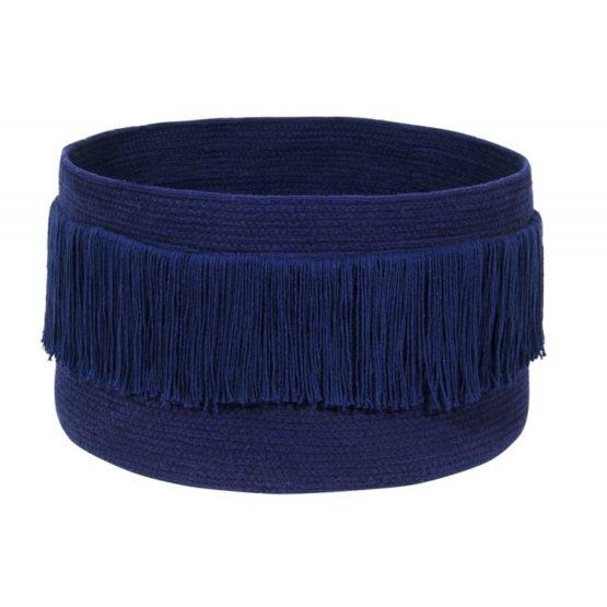 Lorena Canals. Καλάθι Αποθήκευσης FRINGES ALASKA BLUE