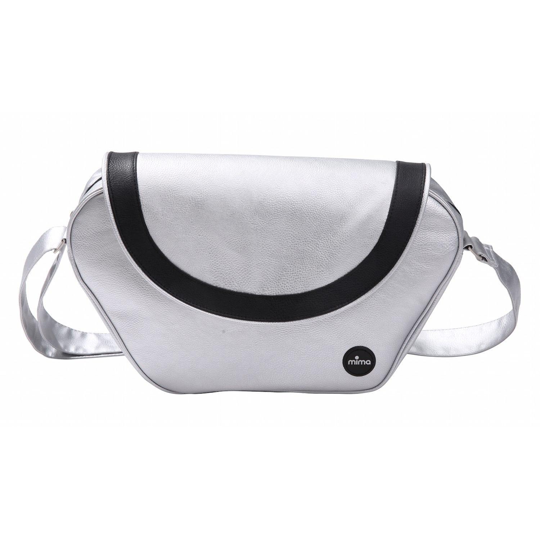 Mima Xari Changing Bag Argento