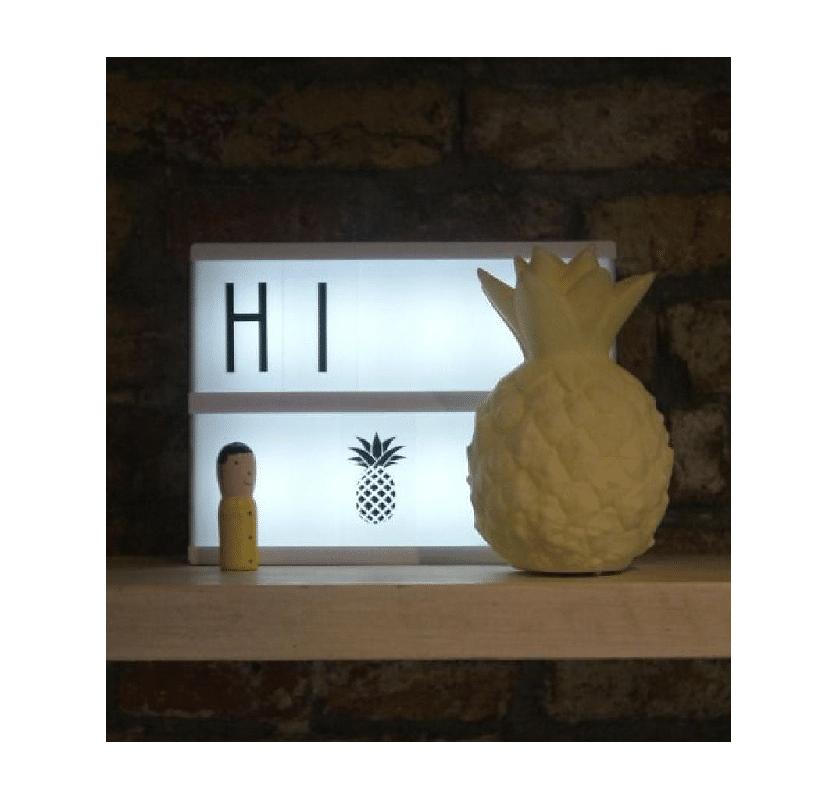 Mini Pineapple Light Yellow4