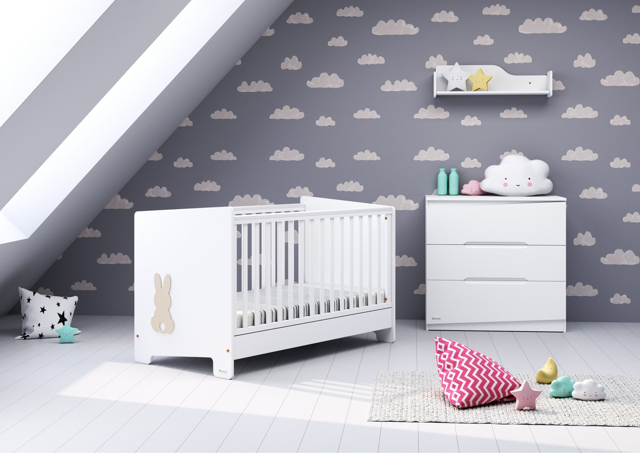 9c90d8828cc CasaBaby Σετ Παιδικού Δωματίου Bunny - Bebe Home