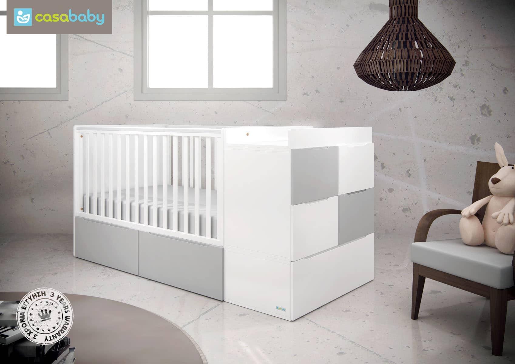 6d72d342730 CasaBaby Πολυμορφικό Κρεβάτι Modular - Bebe Home