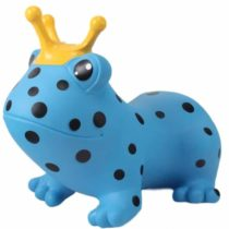 GERARDO'S TOYS Jumpy Φουσκωτά Ζωάκια - Βάτραχος Μπλε - Bebe Home Βρεφικά Είδη