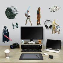 "ROOMMATES Αυτοκόλλητα Τοίχου ""Star Wars Classic"" - Bebe Home Βρεφικά Είδη"