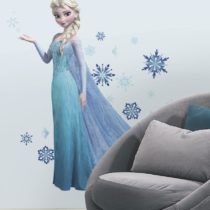 "ROOMMATES Αυτοκόλλητα Τοίχου ""Frozen Elsa"" - Bebe Home Βρεφικά Είδη"