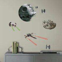 "ROOMMATES Αυτοκόλλητα Τοίχου ""Star Wars Διαστημόπλοια"" - Bebe Home Βρεφικά Είδη"