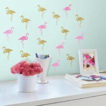 "ROOMMATES Αυτοκόλλητα Τοίχου ""Flamingos"" - Bebe Home Βρεφικά Είδη"