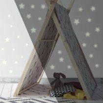 ROOMMATES Αυτοκόλλητα Τοίχου Φωσφορίζοντα «Αστεράκια»